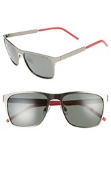 Polaroid Men's Eyewear 57Mm Polarized Sunglasses