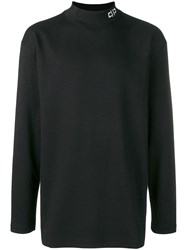 D.Gnak Perfectly Fitted Sweater Black