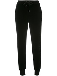 Sonia Rykiel By Velvet Jogging Trousers Women Cotton Polyester S Black
