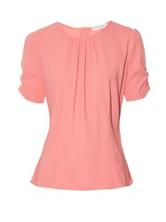 Altuzarra Kelly Stretch Cady Top Pink