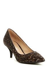Kenneth Cole Reaction Mirror Genuine Calf Hair Pump Multi