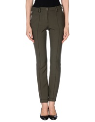 Malloni Casual Pants Military Green