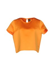 1 One Blouses Orange