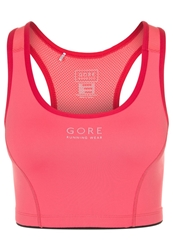 Gore Running Wear Air 4.0 Sports Bra Coral Red