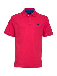 Raging Bull Men's New Signature Polo Pink