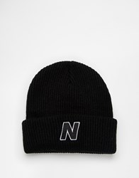 New Balance Compo Beanie Black