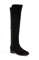 Blondo 'Eden' Over The Knee Waterproof Boot Women Black Suede
