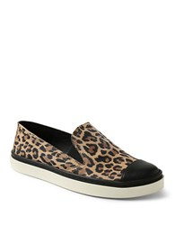 Andre Assous Danielle Slip On Sneakers Leopard Black