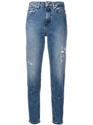 Tommy Hilfiger Icons Mom Jeans Blue