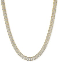 Victoria Townsend Diamond S Link Necklace 1 Ct. T.W. In 18K Gold Over Sterling Silver