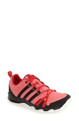 Adidas Women's 'Tracerocker' Athletic Sneaker Super Blush Black Ray Red