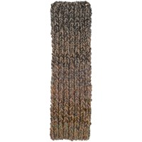 Bless Multicolor Degrade Chunky Knit Scarf