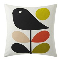 Orla Kiely Early Bird Cushion 45X45cm Pale Rose