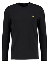 Lyle And Scott Long Sleeved Top True Black