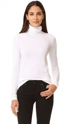 Wolford Viscose Turtleneck Pullover White