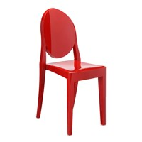 Victoria Ghost Chair Kartell Red