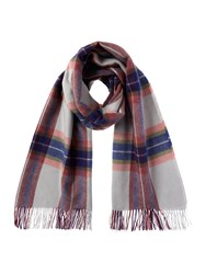 Barbour Country Plaid Wrap Pink