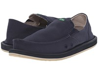 Sanuk Pick Pocket Navy Men's Slip On Shoes
