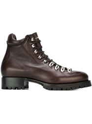 Dsquared2 Lace Up Boots Brown