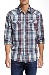 Micros Kubrick Plaid Shirt Blue