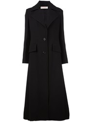 Marni Long Length Coat Black