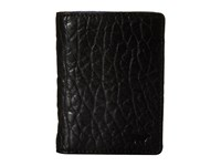 Will Leather Goods Flip Front Pocket Black Royal Wallet