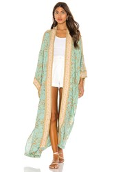 Spell And The Gypsy Collective Maisie Maxi Kimono Blue