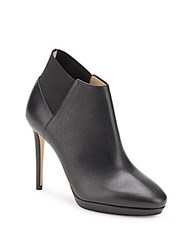 Jimmy Choo Slip On Stiletto Booties Black
