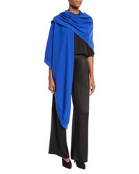 Eileen Fisher Italian Cashmere Wrap Royal