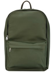 A.P.C. Classic Backpack Men Nylon One Size Green