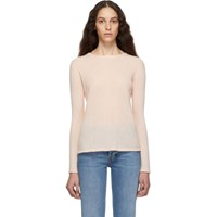 Max Mara Pink Cashmere And Silk Zeno Sweater