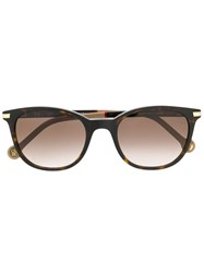Carolina Herrera She Sunglasses Brown