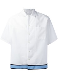 Prada Shortsleeved Shirt White