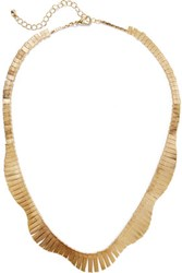 Kenneth Jay Lane Gold Plated Necklace One Size