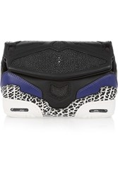Alexander Wang Sneaker Leather Clutch Black