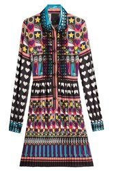 Anna Sui All You Need Is Love Shirtdress Multicolor