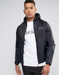 Ellesse Lightweight Jacket With Panelling Black