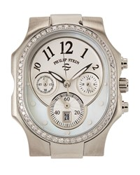 Philip Stein Teslar Stainless Steel Chronograph Watch Head No Color