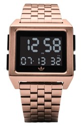 Adidas Archive Digital Bracelet Watch 36Mm Rose Gold