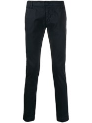 Entre Amis Slim Fit Chinos Blue