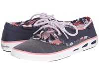 Columbia Vulc N Vent Peep Toe Nocturnal Bright Red Women's Shoes Gray