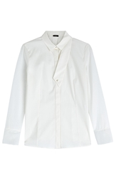 Akris Cotton Shirt With Deconstucted Collar