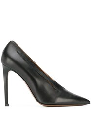 L'autre Chose Pointed Pumps Black