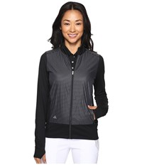 Adidas Technical Lightweight Wind Jacket Black White Women's Coat