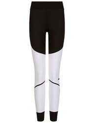 Adidas Stella Mccartney Black And White Training Tights