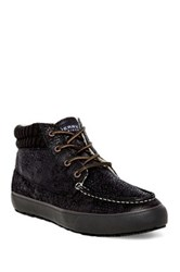 Sperry Bahama Faux Fur Chukka Black