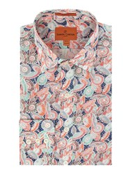 Simon Carter Men's Exclusive Liberty Parasol Print Moore Multi Coloured Multi Coloured