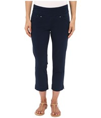Jag Jeans Marion Crop In Bay Twill Nautical Navy Women's Jeans