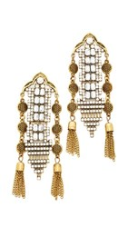 Shashi Stella Earrings Gold