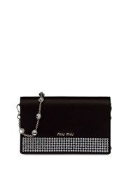 Miu Miu Starlight Satin Clutch 60